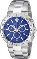 Versace Men's Mystique Sport VFG12 0015 Stainless Steel Watch