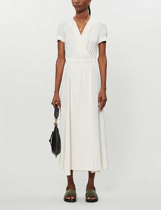 Vestiaire Collective Pre-loved Isabel Marant Etoile V-neck stretch-twill midi dress