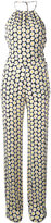 Love Moschino daisy print jumpsuit - women - Polyester/Viscose - 42