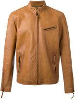 Polo Ralph Lauren Cafe Racer jacket - men - Lamb Skin/Polyester - XL
