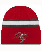 New Era Tampa Bay Buccaneers On-Field Color Rush Pom Knit