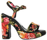 Jeffrey Campbell Guila Fabric Heeled Shoes