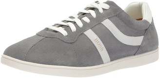 HUGO BOSS Orange Men's Rumba Tennis Sneaker in Suede