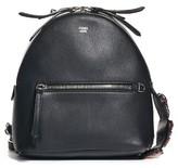 Fendi Small Crystal Embellished Backpack - Black