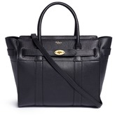 Mulberry 'Small Zipped Bayswater' grainy leather tote