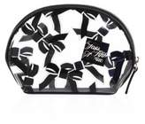 Saks Fifth Avenue Collection Small Tossed Bow Cosmetic Case