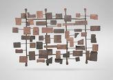 Ethan Allen Metal Wall Sculpture