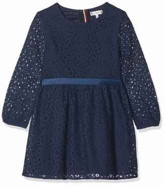 Tommy Hilfiger Girl's Signature Lace Dress L/s
