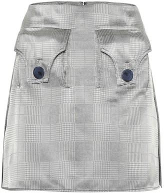 Ellery Nothing Matters gabardine miniskirt
