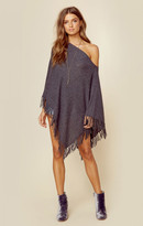Minnie Rose cashmere fringe ruana