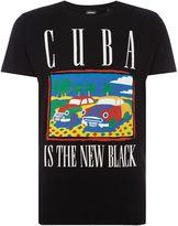 Diesel Men's Cuba graphic crew neck t-shirt