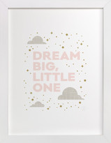 Minted Dream Big, Little One Self-Launch Children's Art Print