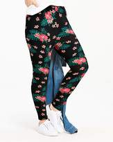 Fashion World Tropical Floral Print Jersey Leggings