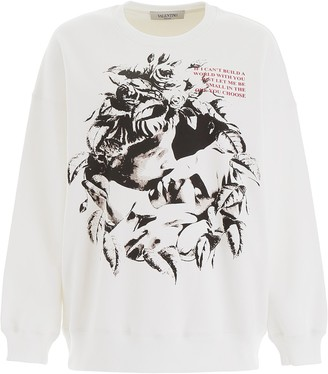 Valentino X Undercover Lovers Printed Sweater