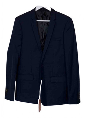 Sandro Navy Cotton Suits