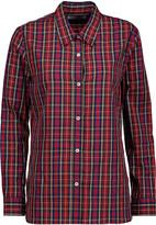 Etoile Isabel Marant Babylon plaid cotton shirt
