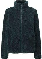 Uniqlo Women Fluffy Yarn Fleece Full Zip Jacket