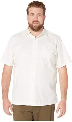 Tommy Bahama Catalina Stretch Twill Shirt (White) Men's Clothing