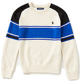 Ralph Lauren Big Boys 8-20 Bold-Stripe Sweater