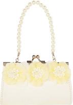 Monsoon Daisy Lace Flower Mini Bag