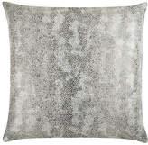 The Piper Collection Miller 22x22 Linen Pillow - Silver