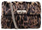 Kurt Geiger Kensington Large Cross Body Bag, Leopard Print