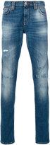 Philipp Plein light-wash skinny jeans