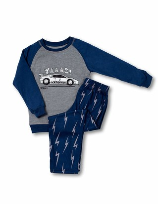 Joe Boxer Big Boy's Lighting Tee/Pant Set Sleepwear