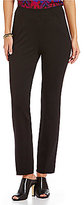 Investments the REGENT ST fit Pull-On Straight Leg Ankle Pant