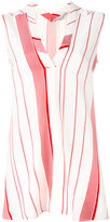 Stella McCartney striped V-neck top