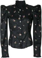 Isabel Marant floral embroidered shirt