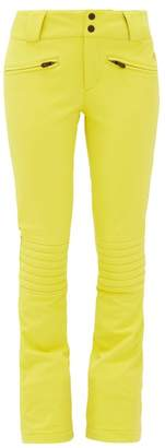 Perfect Moment Aurora Flared Ski Trousers - Womens - Yellow