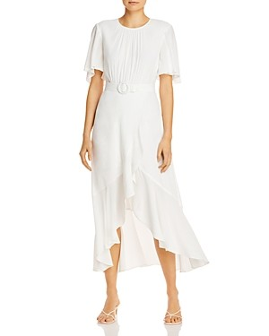 French Connection Emina Belted Midi Dress