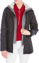 Vince Camuto Quilted Bib Jacket