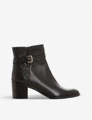 Dune Pacey leather ankle boots