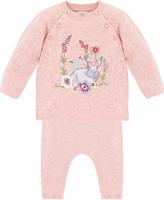 Monsoon Newborn Bunny 2 Piece Knitted Set