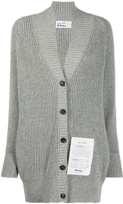 Ballantyne Logo-Patch Cardigan