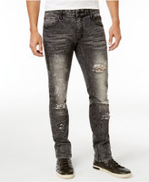 INC International Concepts Men's Ripped Skinny Jeans, Only at Macy's