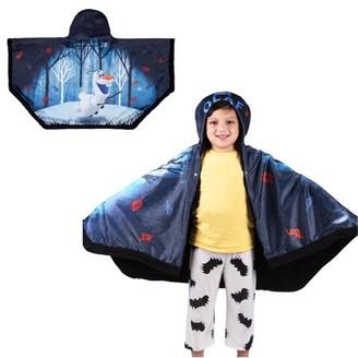 "Disney Frozen Disneys Frozen 2 Olaf Snuggle Wrap Hoodie Blanket, 55"" x 31"", Super Soft and Cozy"