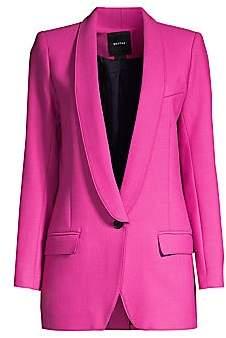 Smythe Women's Long Shawl Collar Blazer