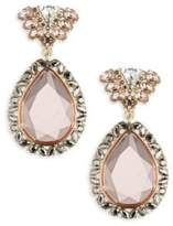 ABS by Allen Schwartz Stone-Accented Drop Earrings