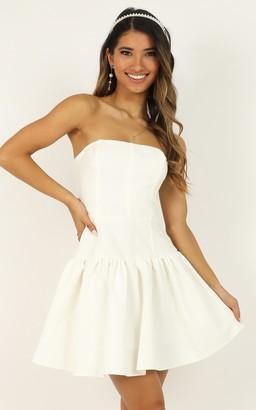 Showpo All The Memories We Share Dress in white - 4 (XXS) Dresses