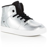 Supra Boys' Vaider Metallic High Top Sneakers