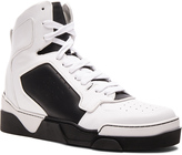Givenchy Leather High Top Tyson Sneakers