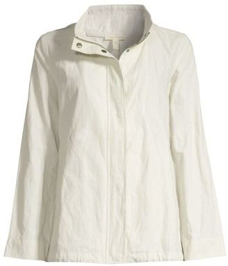 Eileen Fisher Organic Cotton-Blend Jacket