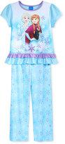 2-Pc. Frozen Pajama Set, Little Girls (2-6X) & Big Girls (7-16)