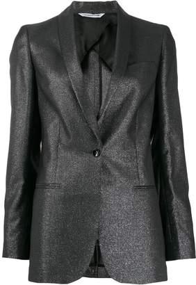 Tonello metallic slim-fit blazer