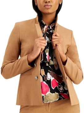 Bar III Faux Double-Breasted Blazer, Created for Macy's