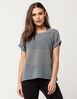 Free People Hot Stuff Womens Mesh Tee