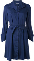 Cacharel belted shirt dress - women - Silk - 36
